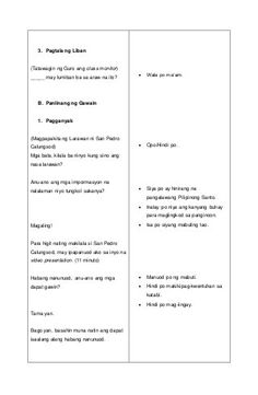 Detalyadong Banghay-Aralin sa Filipino V 4a's Lesson Plan, Lesson Plan Examples, Science Lesson Plans, Teacher Lesson Plans, Science Lessons, Lesson Plan In Filipino, The Cure, How To Plan, F1