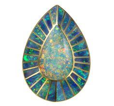 Opal pendant #opalsaustralia                              …
