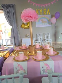 #kidspartydecor #kidsparties #kidspartyplanner #kidsbirthdayparties #kidsthemedparties Kids Party Planner, Kids Party Decorations, Birthday Party Themes, Unicorn, Photo And Video, Instagram, A Unicorn, Unicorns