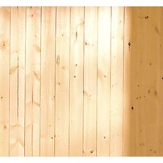Lowes: For the ceiling: EverTrue x V-Groove Pine Wood Wall Panel pkg plus extra for just in case. Wood Plank Walls, Plank Ceiling, Wood Planks, Barnwood Paneling, Planked Walls, Cement Walls, Pallet Walls, Knotty Pine Walls, Knotty Pine Paneling