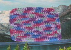 Hand crochet cotton dish cloth 7 by 7.5 by LandLCandlesandCraft on Etsy