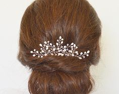 Bridal hair pins bridesmaid hair pins set of 3 от JoannaReedBridal