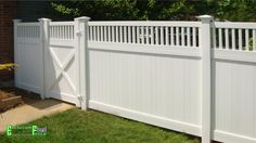 vinyl fence panels canada - Google Search