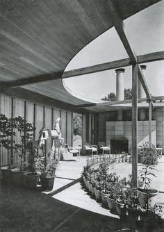William Wurster, Saxton Pope House. Lafayette (1940)