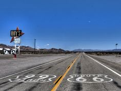 Roys motel, California, route 66