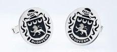 McGovern family crest cufflinks