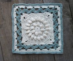 "Ravelry: Crown Jewels - 12"" square by Melinda Miller"