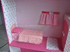 Casa de boneca de papelão - Força de Expressão