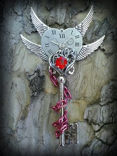 Timeless Love Fantasy Key by ArtbyStarlaMoore on Etsy, $25.00