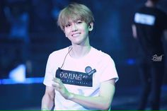He really resembles the light..because of his smile..