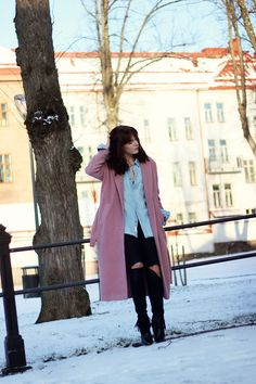 WST Pink Love Coat on Fashion Worries