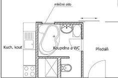 koupelna v paneláku - Hledat Googlem Floor Plans, Diagram, Floor Plan Drawing, House Floor Plans