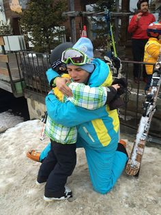 Goodbye hugs after a great week in our kids' group lessons ! Ski, Great Week, Our Kids, Hugs, Group, Children, Winter, Big Hugs, Young Children