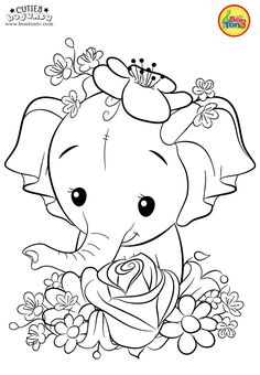 Cuties Coloring Pages for Kids – Free Preschool Printables – Slatkice Bojanke – … Cuties Coloring Pages for Kids – Free Preschool Printables – Slatkice Bojanke – Cute Animal Coloring Books by BonTon TV Elephant Coloring Page, Unicorn Coloring Pages, Free Adult Coloring Pages, Fairy Coloring, Cute Coloring Pages, Coloring Pages To Print, Animal Coloring Pages, Free Printable Coloring Pages, Coloring For Kids