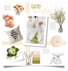 easter essentials by levai-magdolna on Polyvore featuring interior, interiors, interior design, home, home decor, interior decorating, Pier 1 Imports, Mark & Graham, IMAX Corporation and Frontgate
