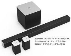 VIZIO SB4051 Dimensions