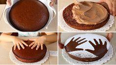 Nutella Chocolate Cake, Chocolate Desserts, Cake Icing, Cupcake Cakes, Baking Recipes, Cake Recipes, Baking Bad, Facebook Recipe, Nutella Recipes