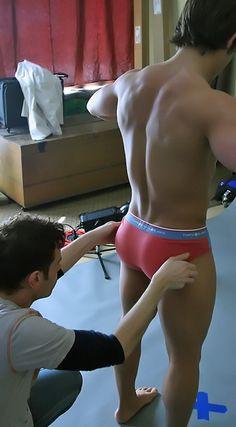 Men spanking boys