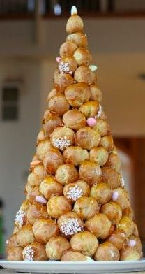 Classic French Croquembouche - my parents had one at their wedding and I always like a little nod to my Parisian heritage!