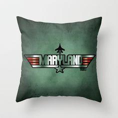 MARYLAND VIGO (Maverick Version) Throw Pillow Maryland, Throw Pillows, Group, Music, Musica, Toss Pillows, Musik, Cushions, Decorative Pillows