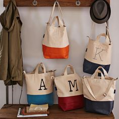 West Elm bag- easy to knock off