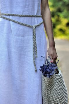 Handmade crochet beach bag, market bag, tote bag  This unique design Bag is crocheted from 100% cotton rope. Exclusive hand knitted handbag is a
