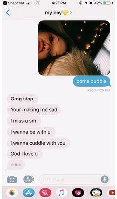 Cute Relationship Texts, Relationship Goals Pictures, Couple Goals Relationships, Distance Relationships, Boyfriend Goals, Boyfriend Quotes, Future Boyfriend, Boyfriend Texts, Boyfriend Girlfriend