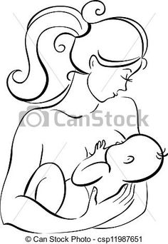 mother and baby clipart - Google Search   mother baby bond ...