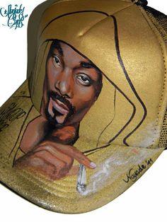 Nayade Caps Gorras personalizadas Custom caps: Snoop Dogg Gold cap