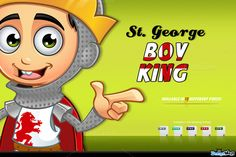 St. George Boy King Character by DesignWolf on Creative Market