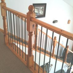 Cool, Cheap, And Strong Idea For Railings ~ Painted Black Rebar!