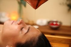 AYURVEDA HEAD OIL APPLICATION