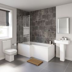 See why we're specialists in bathroom suites and beautiful bathroom designs! Designer, modern & traditional bathroom suites for all shapes, sizes & budgets. Bathroom Layout, Bathroom Interior Design, Modern Bathroom, Small Bathroom, Bathroom Ideas, Bathroom Designs, Bathtub Ideas, Bathroom Renovations, Traditional Bathroom Suites