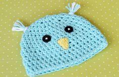 Spring Chick Easy Crochet Hat   AllFreeCrochet.com