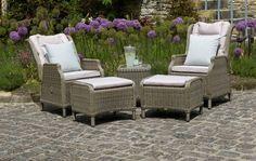 Bramblecrest Oakridge Reclining Set - Garden Furniture