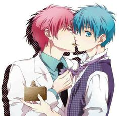 Akashi, you're adorable~ ( ´ ▽ ` )ノ