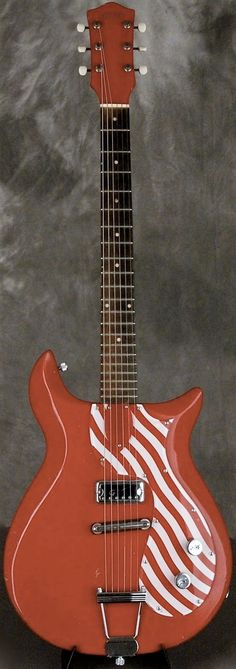 1961 Gretsch Corvette 6109 Peppermint TWIST   --- https://www.pinterest.com/lardyfatboy/