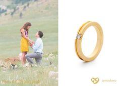 Wenn alles passt, dann ist der richtige Zeitpunkt die wichtigste Frage zu stellen. <3 #Amodoro #Verlobungsringe www.amodoro.de