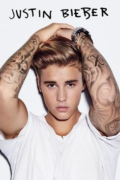 Justin Bieber - White - Official Poster