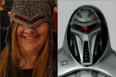 Finally, many months after I announced a rewrite, the updated Cylon Centurion hat pattern is uploaded as a free Ravelry pattern! This version should be far more comprehensive than the original. Please let me know if you spot any errors or have any questions about the construction.