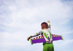 """""""To infinity ... and beyond!"""" Toy Story"""