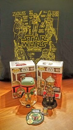 b751a81e973 Sasaki Time Unboxing video of the May 2016 Funko Star Wars Smuggler s  Bounty Box