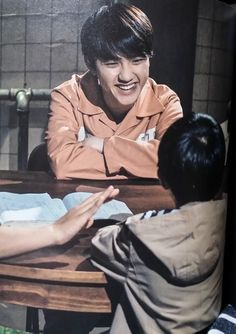 Hello Monster I can't believe he's in this show coz omg I was actually gonna watch this Now you best believe Imma watch it asappppp Kyungsoo, Chanyeol, Baekyeol, Exo For Life, Two Worlds, Exo Album, Xiuchen, Exo Korean, Nostalgia