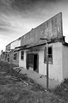 Abandoned remains of the Ludlow Massacre, Ludlow, CO.