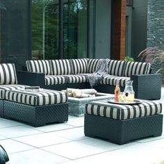 Outdoor furniture from Ethan Allen