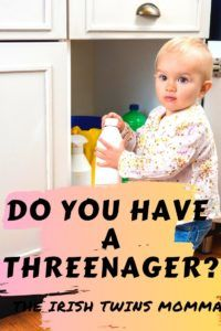 A three-year-old child that has the attitude of a teenager. Here are signs that you are experiencing this and how to embraces it. Parenting Toddlers, Parenting Advice, Teenage Girl Problems, Irish Twins, Threenager, Raising Teenagers, Terrible Twos, Three Year Olds, Baby Hacks
