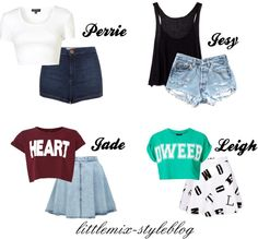 """""""*REQUESTED* Inspired outfits for summer"""" by little-mix-fashion ❤ liked on Polyvore"""
