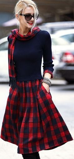 I love plaid!