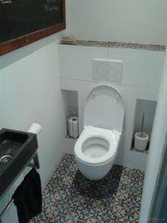 Afbeeldingsresultaat voor inbouw toilet tegels jaren 30 for Tegels wc voorbeelden
