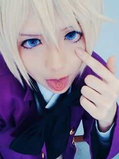 Find images and videos about anime, cosplay and kuroshitsuji on We Heart It - the app to get lost in what you love. Cosplay Boy, Cosplay Anime, Cute Cosplay, Cosplay Makeup, Amazing Cosplay, Cosplay Outfits, Best Cosplay, Cosplay Costumes, Kawaii Cosplay